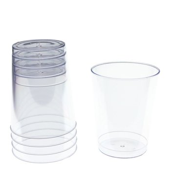 1/2/5/7/8/9/10/12/14oz Elegant Clear Party Wedding Plastic Cups