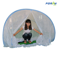 poray pop up mosquito net foldable privacy bed net tent for home or travel
