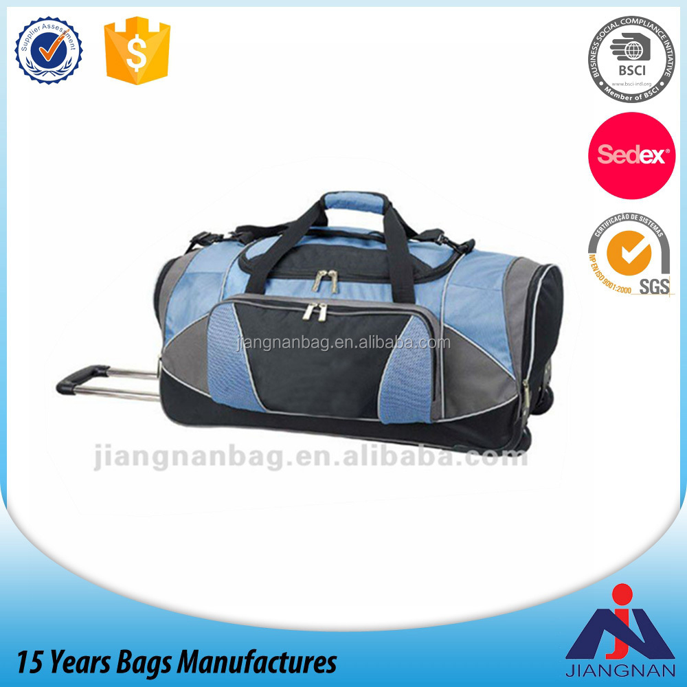 Executive useful character travel trolley bags