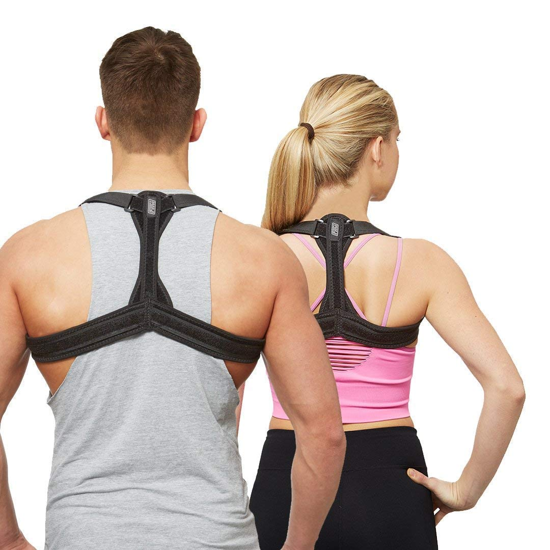 Guoey Humpback Correction Belt Back Corrector Clothing Male and Female Adult Invisible Cure Hunchback Student Spine Summer Breathable
