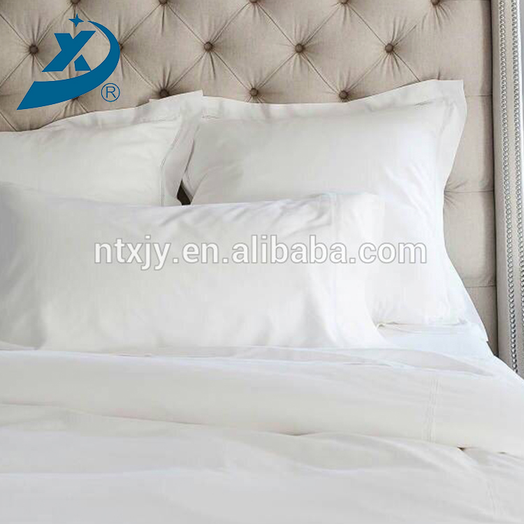 Hot Luxury Cotton Polyester Blend Hotel Bed Sheet