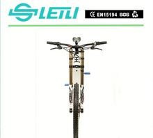 Full suspension carboon steel frame 26 inch 48v 500w engine powered bicycle