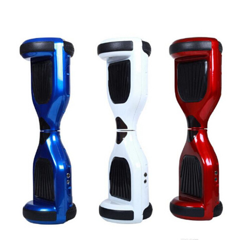6.5 inch Two wheel Unicycle Key Remote Control 4400mah Battery Self Balance Electric Scooters Balancing Skateboard Hover Board
