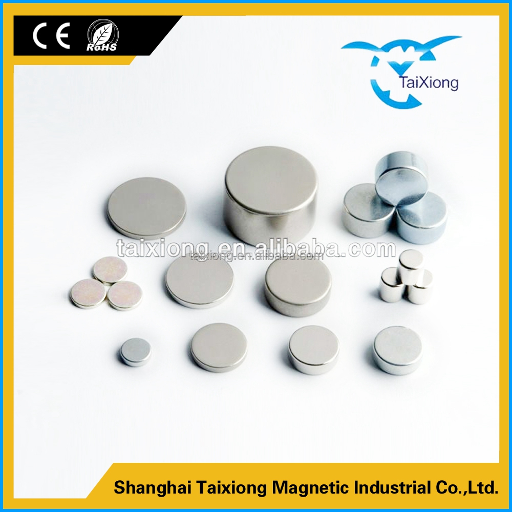Fine workmanship Flatback ndfeb round magnet for jewelry fashion