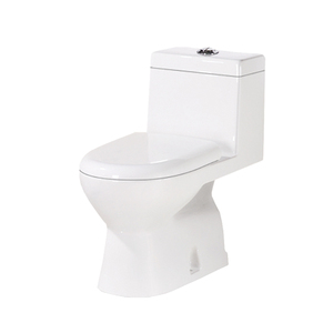 Siphon one piece toilet 1/2 pcs wc toilet s/p-trap roughing in 300/400mm
