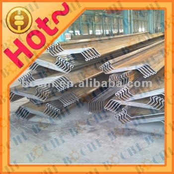 New Or Used Z Shaped Profile Section Hot Rolled Steel Sheet Piles ...