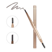 High quality private label Makeup Waterproof Eyebrow Pencil 6 colors with Brush Eyebrow Kit