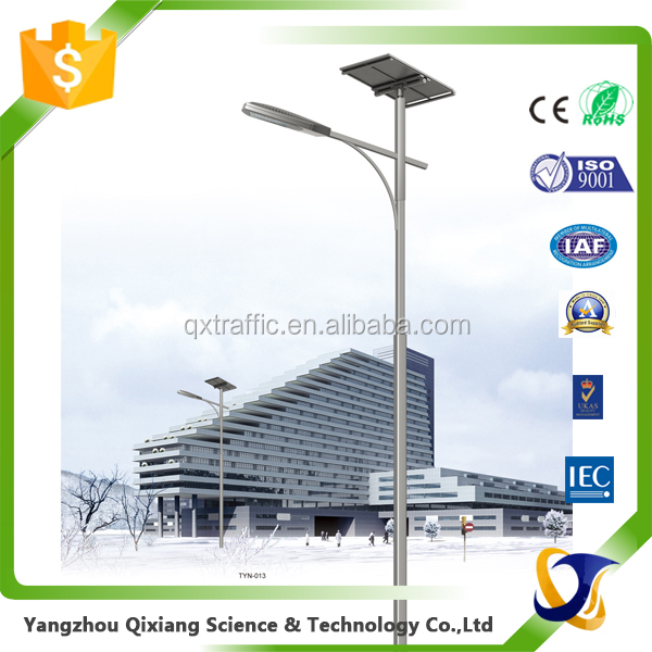 traffic light pole steel pole galvanized street lighting pole 6m price