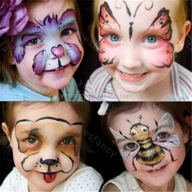 Certificate cute face paint ideas painted face non toxic face paint