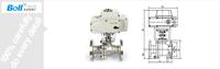 220v Electric Light Weight Ball Valve - Buy Ball Valve,Light ...