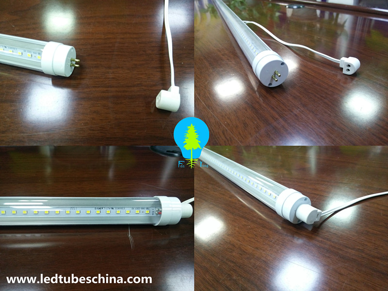 Save Energy Led Smart Lighting T8 With G5 End Cap