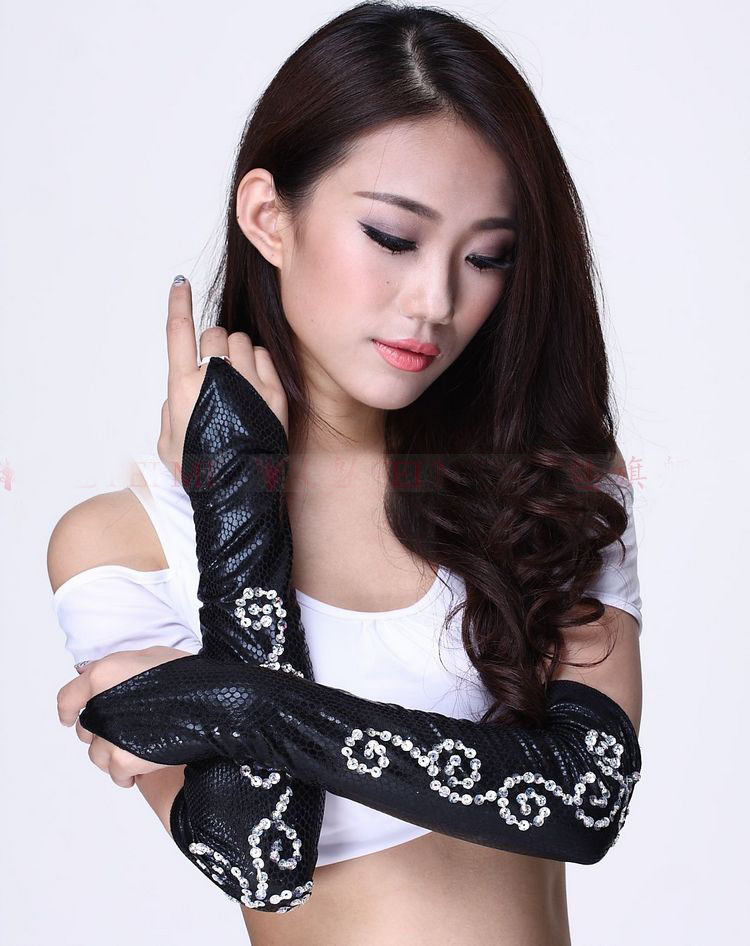 Silver Sequin Glove Promotion-Shop for Promotional Silver