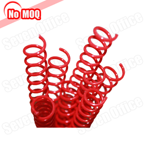 NOMOQ book binding plastic spiral coil wire and binder ring factory price