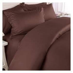 1200 Series TWIN Size EXTRA LONG, Microfiber 3pc Bed Sheet Set, Deep Pocket, CHOCOLATE BROWN