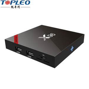 Commercial New type S905W Quad Core X96W 2gb ram 16gb rom RTC android tv box software download set top box