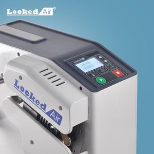Locked air LA-E3S 8m/min mini air cushion machine low cost no maintenance perfect strong quality with multi function CE SGS
