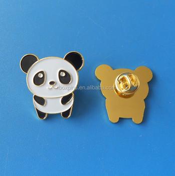 cute panda animal lapel pins china souvneir gifts panda badges buy