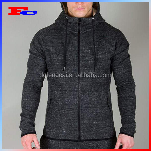 Wholesale Dry Fit Running Hoodies Fitness Workout Clothing Men Sports Wear