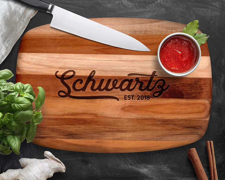 Personalized Teak Cutting Board, Custom Cutting Board, Wood Cutting Board, Teak Wood, Cutting Board, Serving Tray, Cheese Board, Bread Board, Wood Serving Tray, Engraved Tray, Personalized Gift