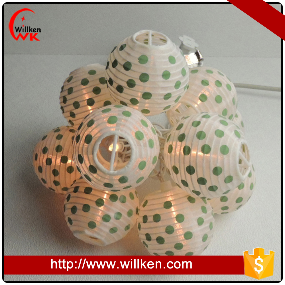 Outdoor waterproof party decoration ball light chain