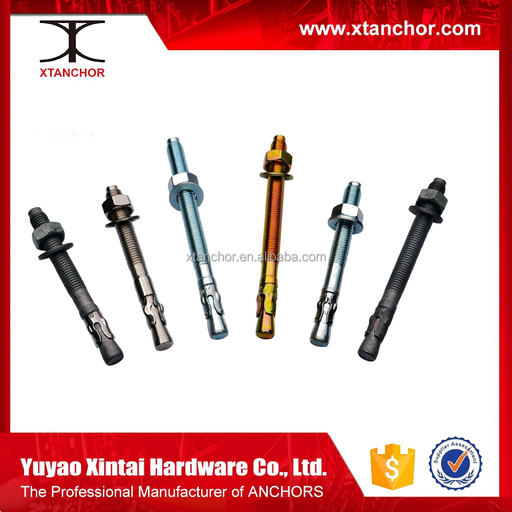 china manufacturer anchor bolt m36/wedge anchor