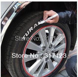 ( 48 pcs/lot ) постоянный водонепроницаемый автомобиль шин шина металл краска маркировки ручка маркер двигатель велосипед