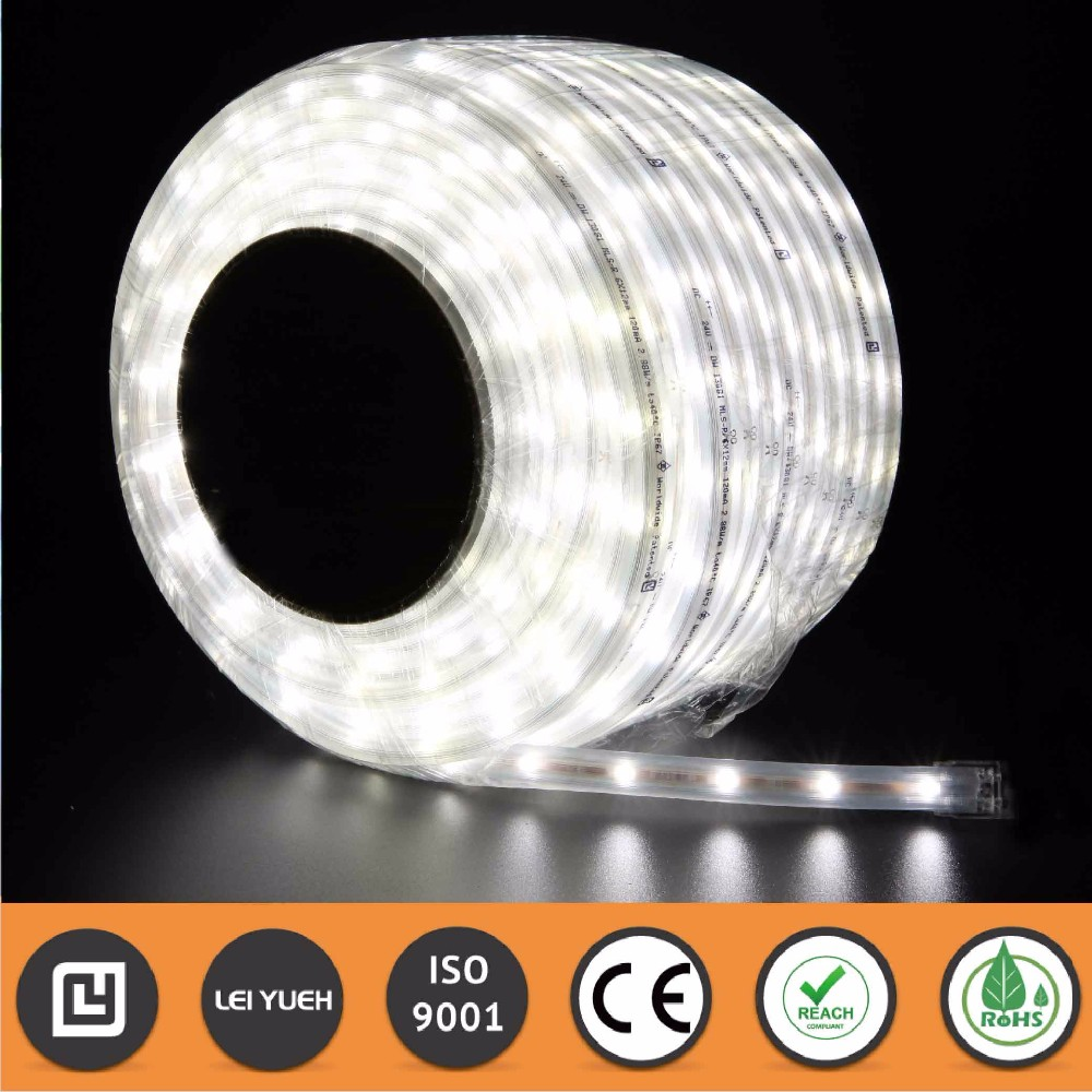High Brightness Decorative CE REACH RoHS Outdoor IP67 490lm Osram3014 LED light belt strip