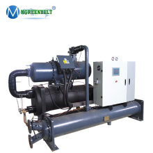 Energy Saving 83tr Water Cooled Screw Industrial Chiller For Plastic Injection Molding Machines