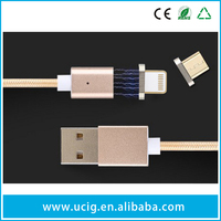 Magnetic Adapter Connect Charger Micro Usb Cable For Mobile Phones