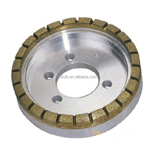 Full segemented diamond cut grinding wheel for glass double edging machine