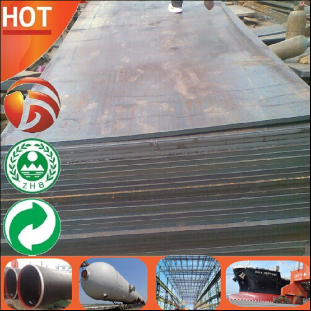 Fast Delivery Large Stock cut to size 10mm thick low alloy high strength steel plate E355 E460