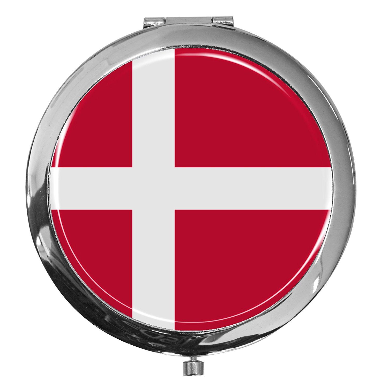 Demark National Flag Red Pattern Winter Earmuffs Ear Warmers Faux Fur Foldable Plush Outdoor Gift