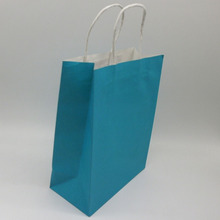 Custom print paper kraft packaging bag/shopping paper bag in China