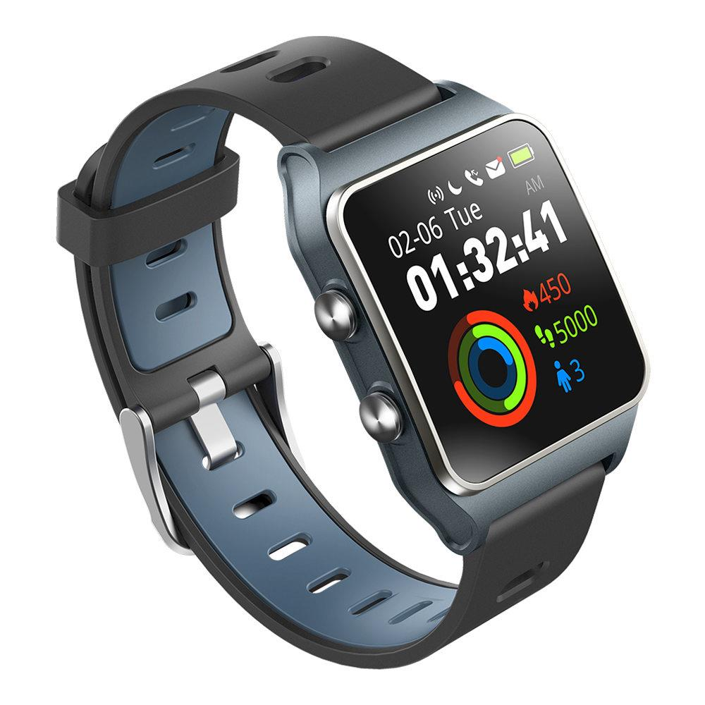 In Stock Makibes BR3 1.3 Inch IPS Color Touchscreen Built-in GPS Multi-sports Modes Heart Rate Monitor Smart Watch