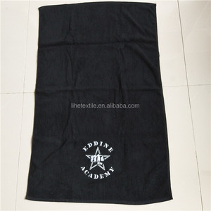 Custom Cotton Personalized Logo Terry Bleach Proof Hair Salon Towel