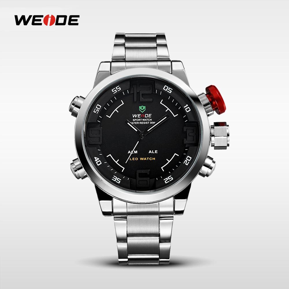 2015 Weide Wh2309 Eatch Supplier Luxury Brand Led Watch Men Steel ...