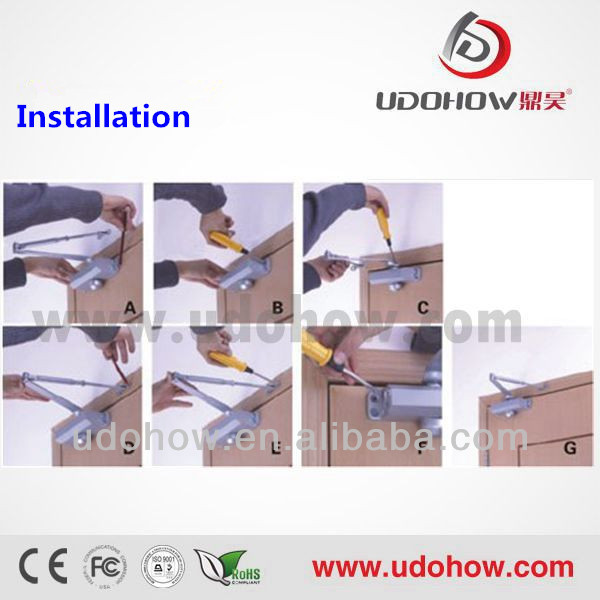 2014 High Quality Middle Size Commercial Door Closer Types