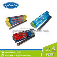 Goldshine environmental Aluminium foil packing paper(SGS,FDA) for lining cookie sheets