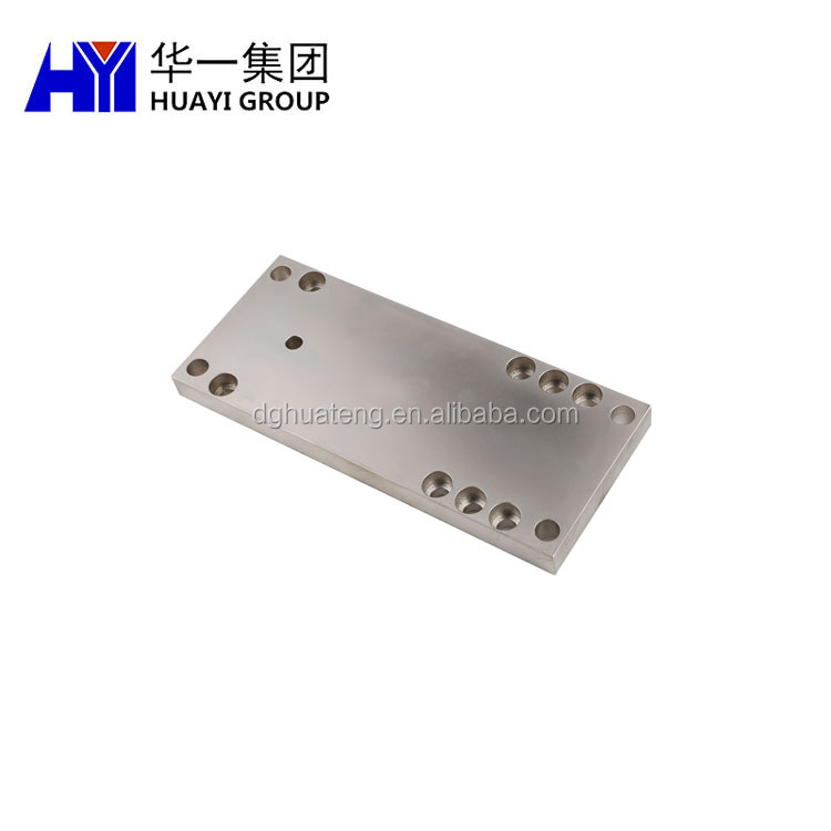 Car use custom cnc milling drilling titanium panel fabrication