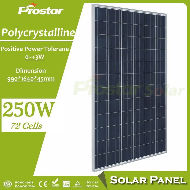 Prostar 1000 watt <strong>solar</strong> panel 250w home power <strong>solar</strong> for <strong>solar</strong> energy system industrial use