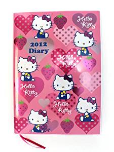 2012 Hello Kitty Schedule Book Daily Book Planner Diary - Japan [Toy]