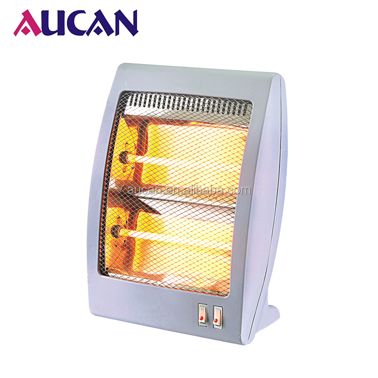 Novel design 800W mini portable heater home electric quartz infrared heaters