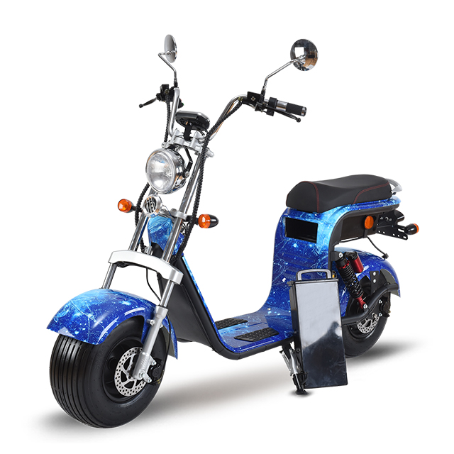 EEC/COC 250w 1000w 1500w 2000w 60v lithium battery citycoco/seev front back suspension fat tire electric scooter car cheap