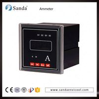 0-9999a digital current meter led digital current meter