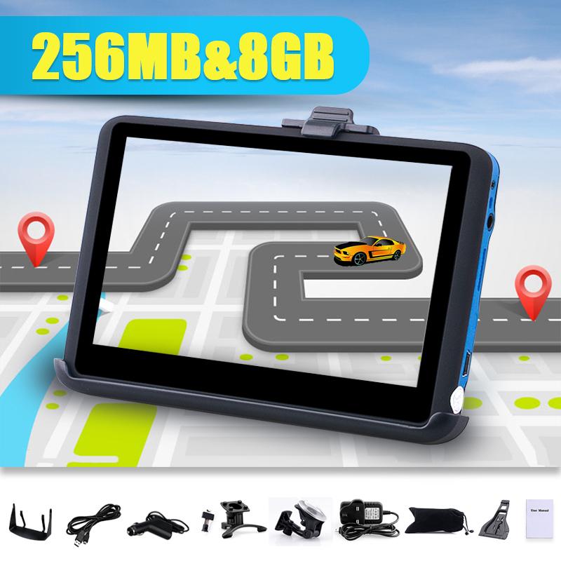 tom 4 3 car gps navigation navigator 8gb sat nav fm tom free maps update new in vehicle gps. Black Bedroom Furniture Sets. Home Design Ideas