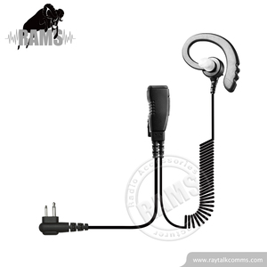 Wholesale top 10 2 wire earpieces wires with replaceable comfort fit eartip