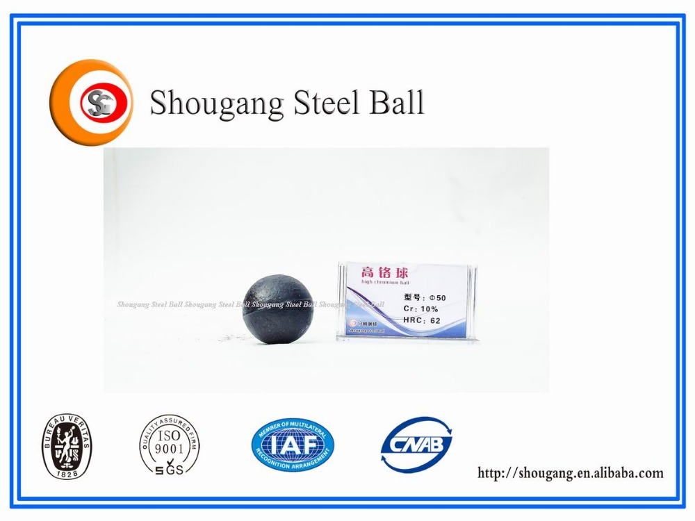 New Product Chromium Cast Ball Cement Mill Grinding Balls