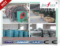 single wire braid, textile covered hydraulic hose sae 100 R5