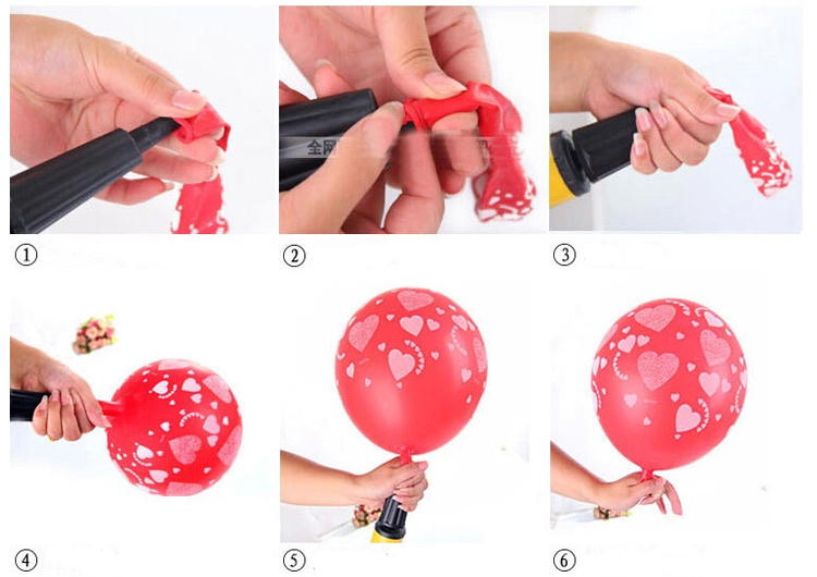 2018 wholesale promotional hand balloon pump
