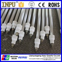 Quartz infrared electric heating tube for sterilizing cabinet